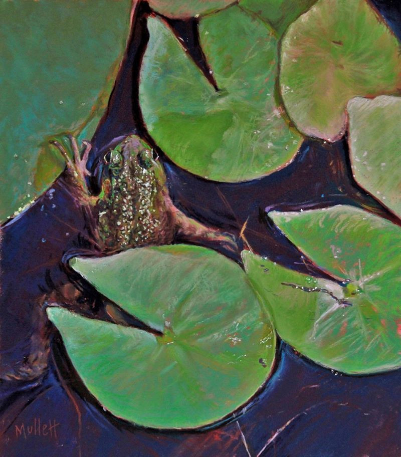 Froggie Yoga by Maryann Mullett