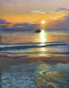 Shyllberg_Jody_Shyllberg_J_SunsetMooring
