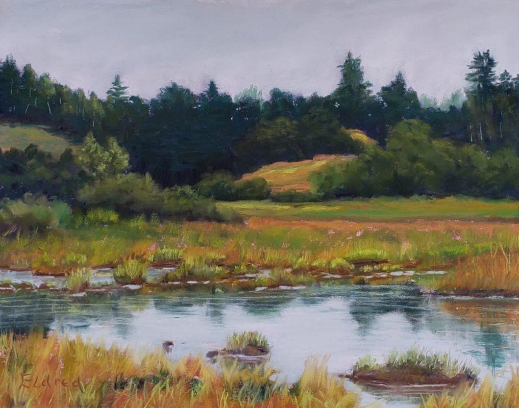 Golden Marsh by Mary Ann Eldred