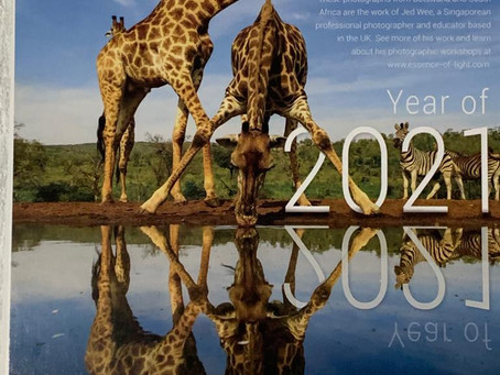 2021 DESK CALENDARS IN SUPPORT OF IBAN MISSIONS
