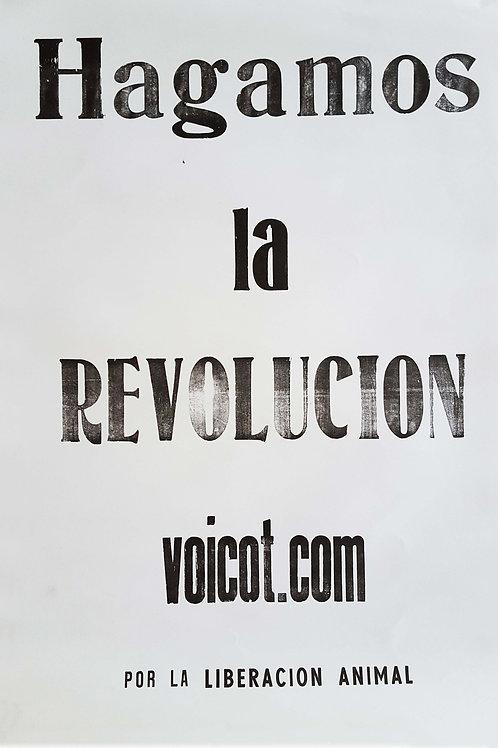 Hagamos la Revolución - Afiche