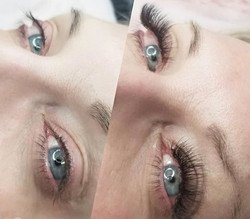 Lovely lashes for this beaut