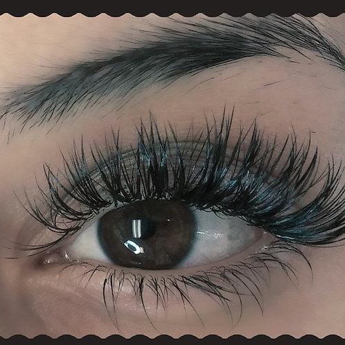 Hybrid eyelash extensions & Bottom lashes