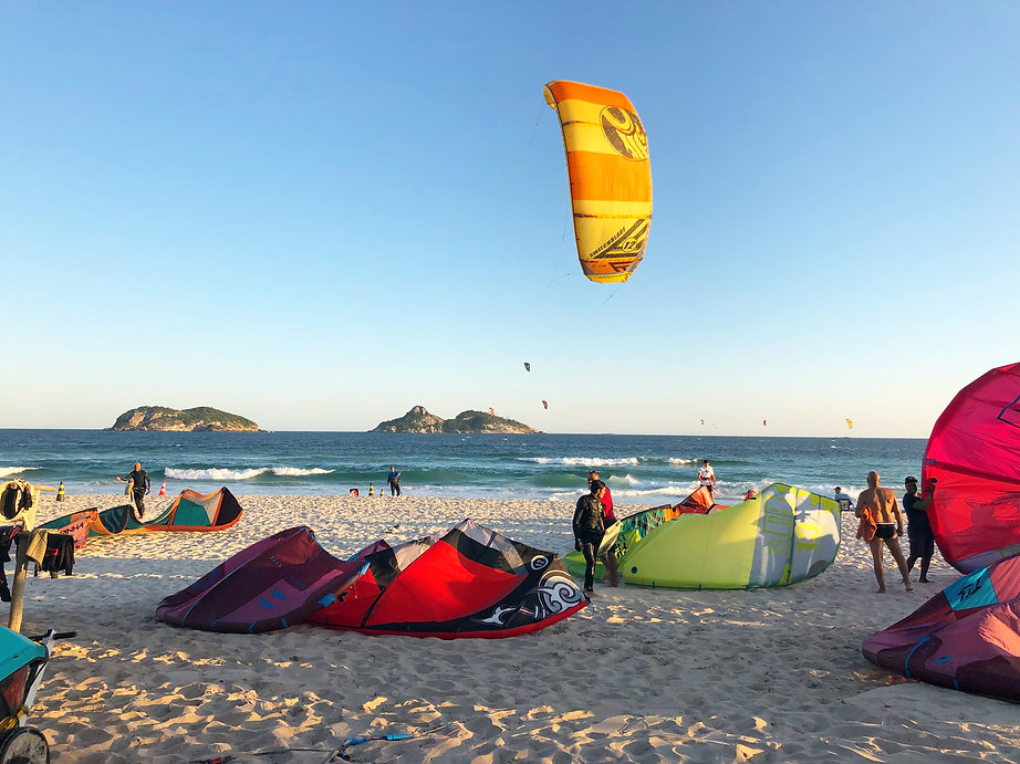 aprenda Kitesurf, Rio de Janeiro, Kitesurf Club, School