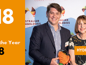 Hydrox Technologies named Australian Technology Company of the year 2018
