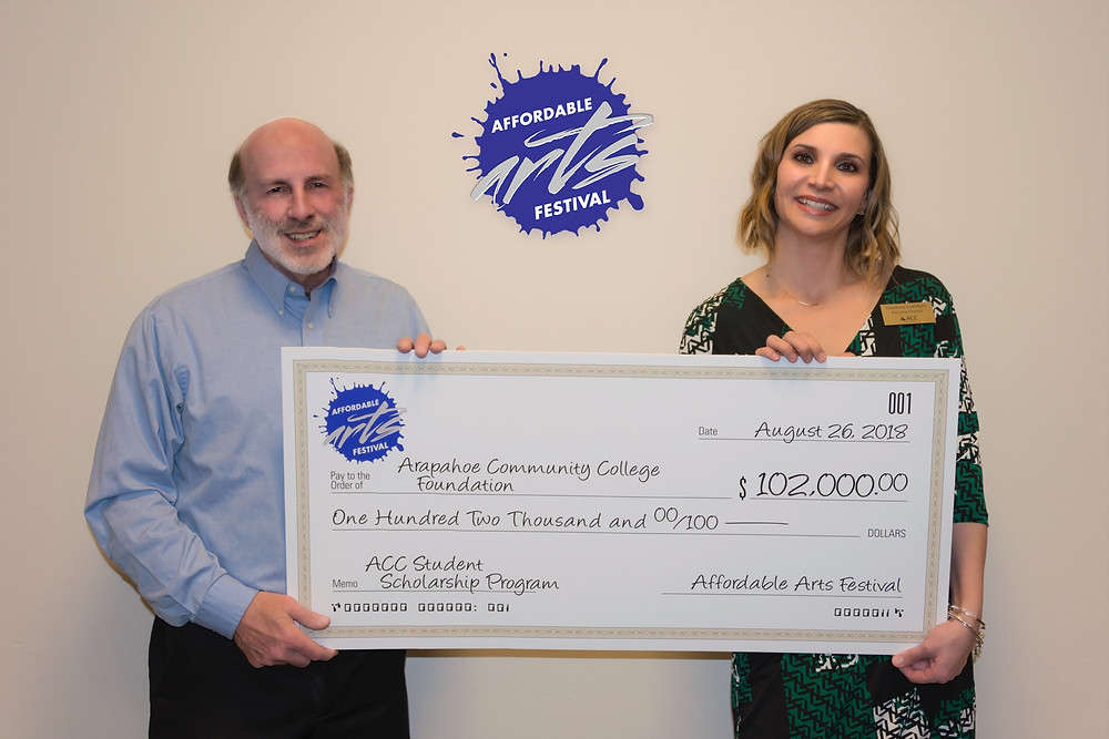Jim DeLutes & Courtney Loehfelm ED of the ACC Foundation
