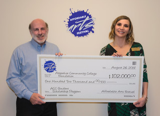 $102,000 for Art Students from the Affordable Arts Festival