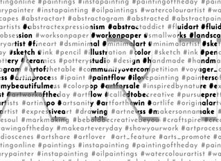 Art Hashtags