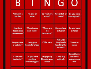 Art-Festival Bingo