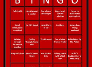 Art Festival Bingo: Travel Edition