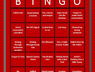 Art Festival Bingo: Travel Edition