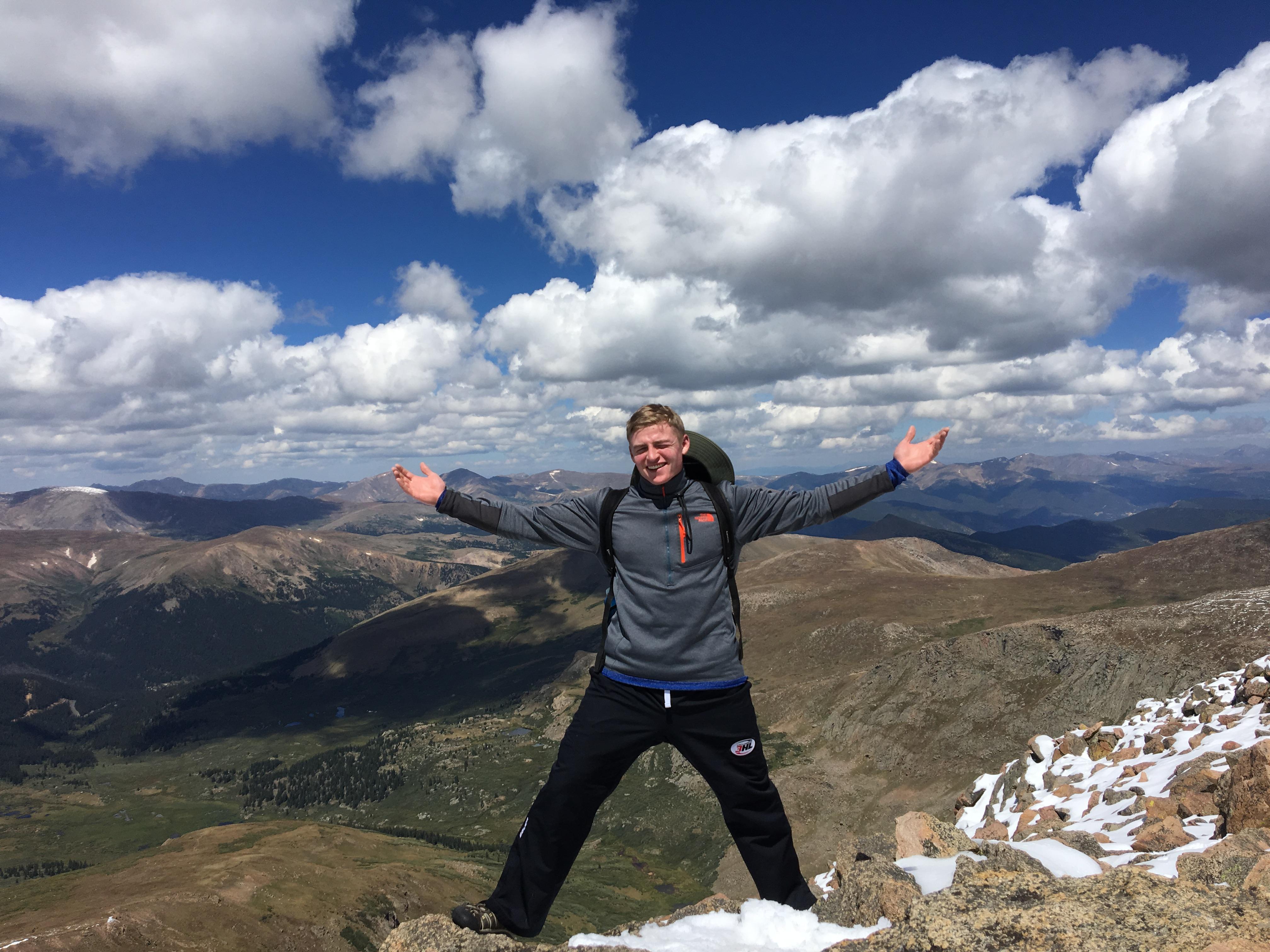 Top of Mt. Bierstadt (14,065 ft)