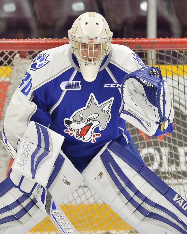 Jake McGrath - Sudbury Wolves OHL