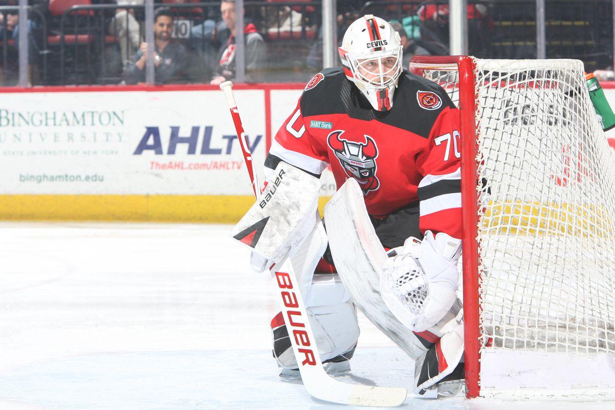 Zane McIntyre - NJ Binghampton NHL-AHL