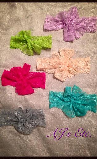 Lace Head Wraps