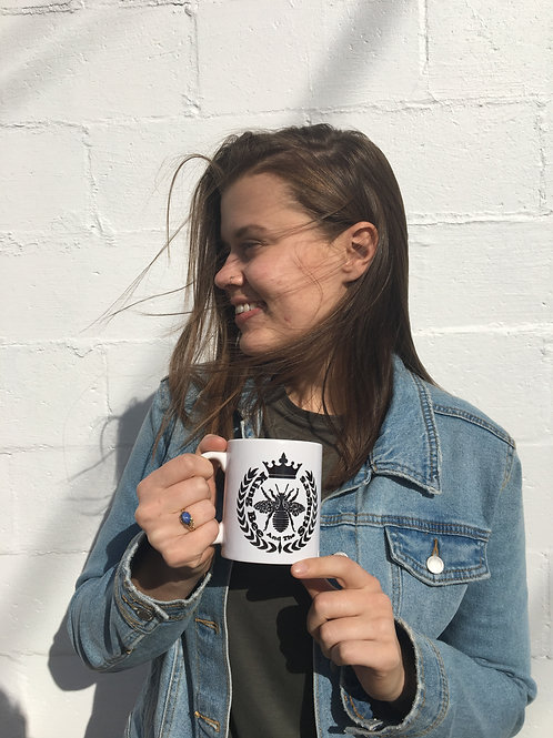 King Bee Logo Coffee Mug