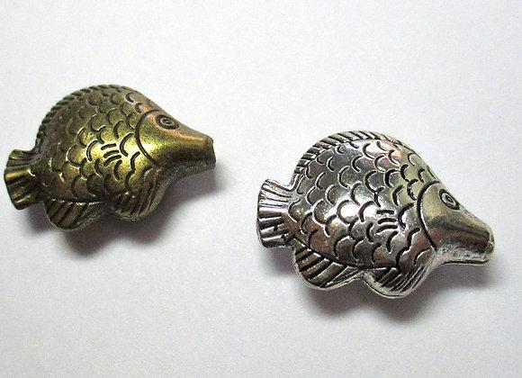 Fat Fish Beads 22 x 20mm