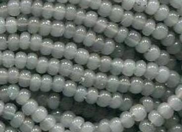 Size 11 Czech #1375 Grey Opal