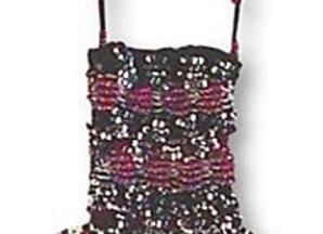 Beaded Knit Amulet Purse Pattern - Webstitch
