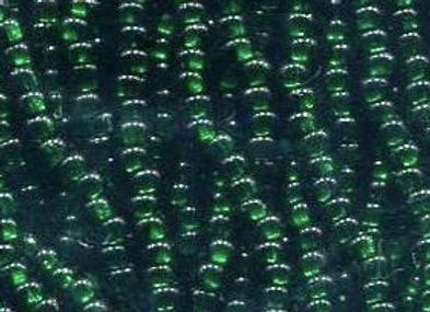 Size 11 Czech #651 Bottle Green SL