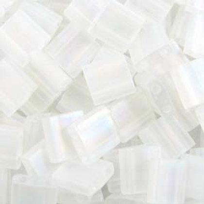 Tila Beads - Crystal Matte ab