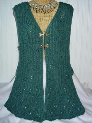 Fall Leaves Vest