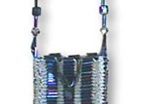 Beaded Knit Amulet Purse Pattern - Matchbox