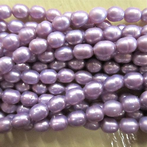FWP27 Lavender 3 x 4mm Rice