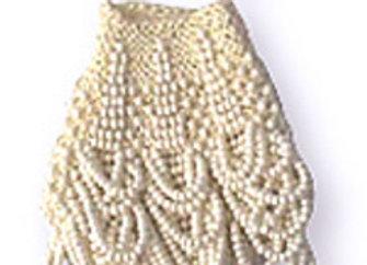 """""""Dottie Loop"""" Beaded Knit Amulet Purse Pattern"""