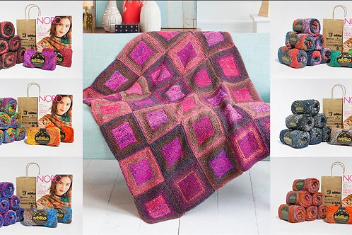Square in a Square Blanket