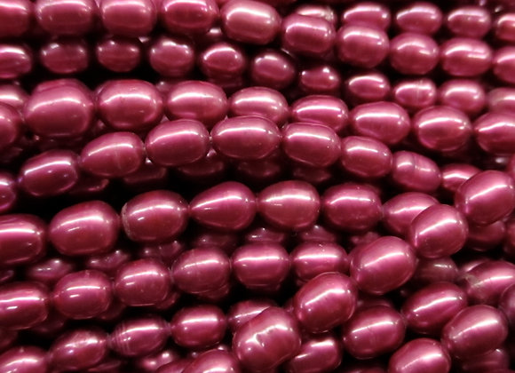 FWP21 Fuschia 4 x 5mm Rice