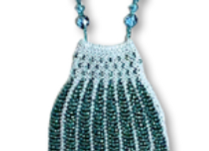 Beaded Knit Coin Purse Pattern - The Vase