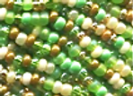 Size 11 Czech #1189 Earth Glimmers Mix