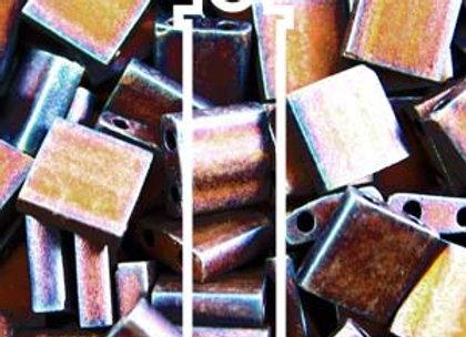 Tila Beads -Matte Metallic Copper Iris