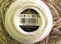 Ecru/Bronze lined AB