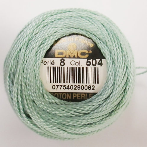 Size 8 Pearl Cotton - Soft Sage