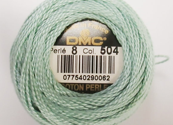 Size 8 Pearl Cotton - Soft Sage