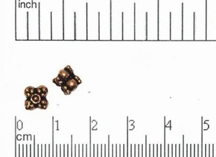6mm x 5mm Solid Bead