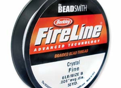 Fireline 6 lb.15 yd. spool White