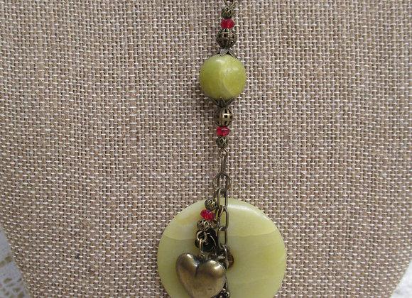 Serpentine Donut Necklace