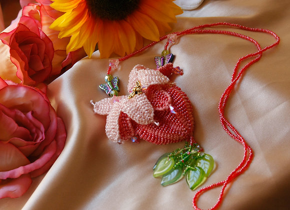 """""""Beaded Knit Amulet & Coin Purse Patterns"""" Book"""
