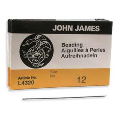 John James English Beading Needles