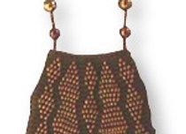 Beaded Knit Amulet Purse Patterns - Zig Zag