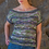 Thumbnail: Mendocino Top in Girandola Kit by Louisa Harding