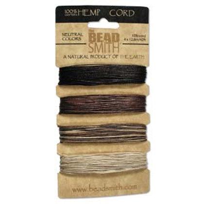 Hemp Cord 4 Color .55mm 10 lb.