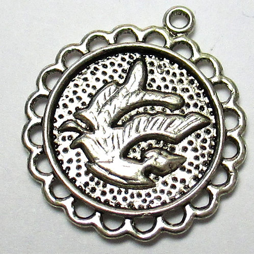 Two-sided Dragon Charm 25 x 12mm