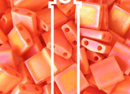 Tila Beads - Orange Matte ab
