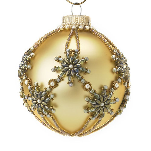 Star Beaded Ornament Cover