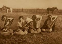 Comanche Mothers, 1927