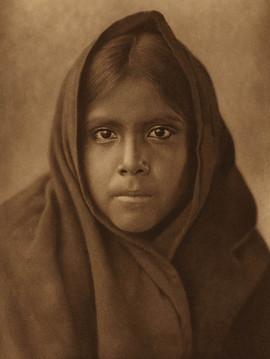 Qahatika girl, 1907